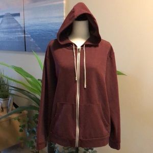 Eddie Bauer Men's Large hooded sweatshirt